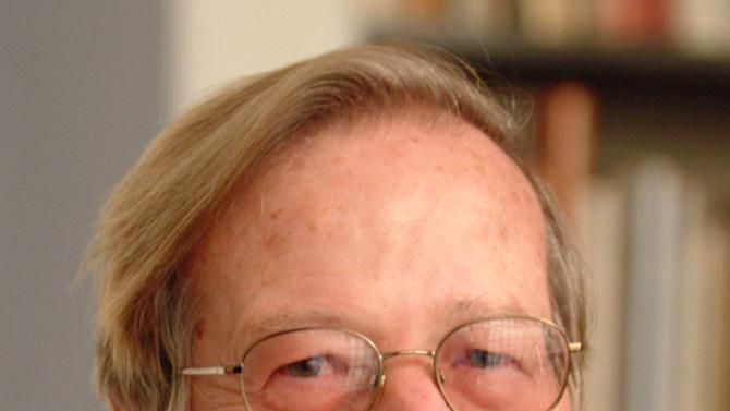 This is an undated file photo of Ronald Dworkin provided by New York University. Dworkin, the American philosopher and constitutional law expert best known for articulating the principle that the most important virtue the law can display is integrity, has died. His family said Dworkin died of leukemia in London early Thursday, Feb. 14, 2013. He was 81. (AP Photo/New York University, Leo Sorel)