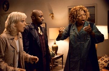 Anna Faris , Eddie Griffin and Queen Latifah in Dimension's Scary Movie 3