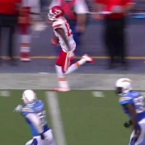 Kansas City Chiefs wide receiver A.J. Jenkins 19-yard catch