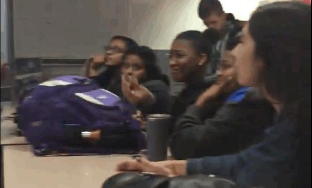 Watch This High School Student Teach the Teacher About the History of Racism