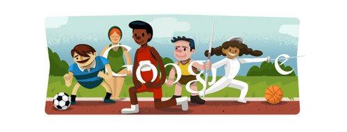 The London 2012 Olympic Games Google Doodles. Google doodles, Olympics, London 2012, Google, Sports Fitness 0