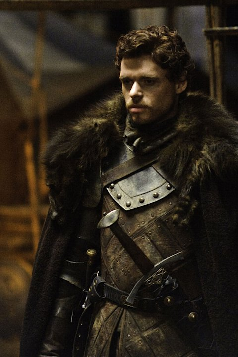 "Richard Madden as Robb Stark in ""Game of Thrones."""