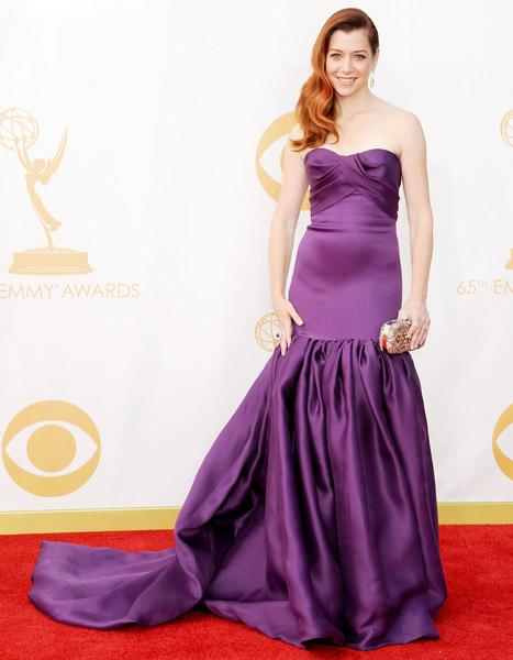 Alyson Hannigan on Emmys 2013 Gown: My Daughter Picked It Out, I Felt Like a Zamboni