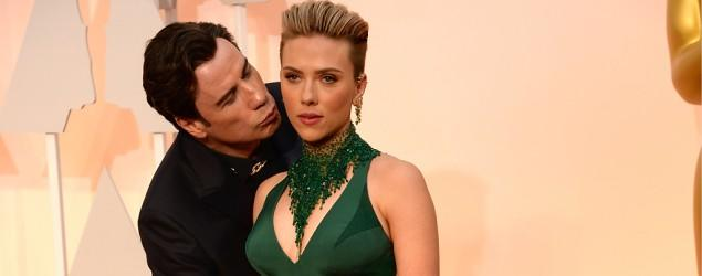 Johansson: Nothing 'creepy' about Travolta