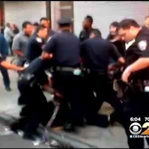 NYPD Officer Suspended After Video Shows Him Kicking Man In Brooklyn
