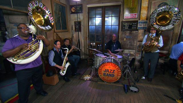 "Preservation Hall Jazz Band performs ""Sugar Plum"""