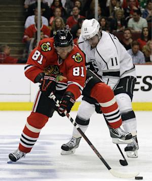 LA Kings head home for chance to finish Blackhawks