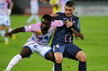 Evian 0-1 Paris Saint-Germain: Pastore edges title ever closer for Ancelotti's side
