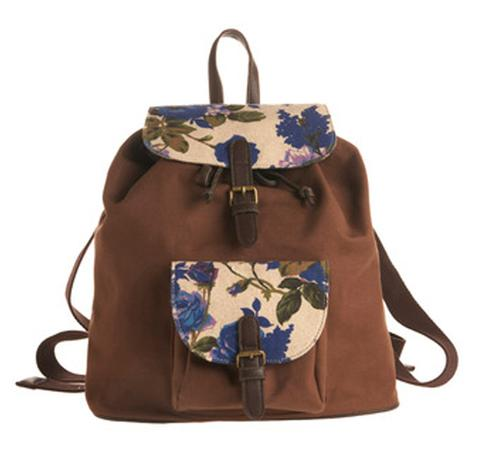 Floral Trek Bag, $64,99, at Modcloth