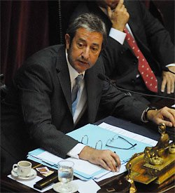 El ex vicepresidente, Julio Cobos (T&#xe9;lam)
