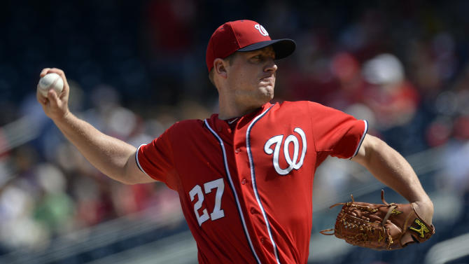 Zimmermann wins 18th, Nationals beat Phillies 11-2
