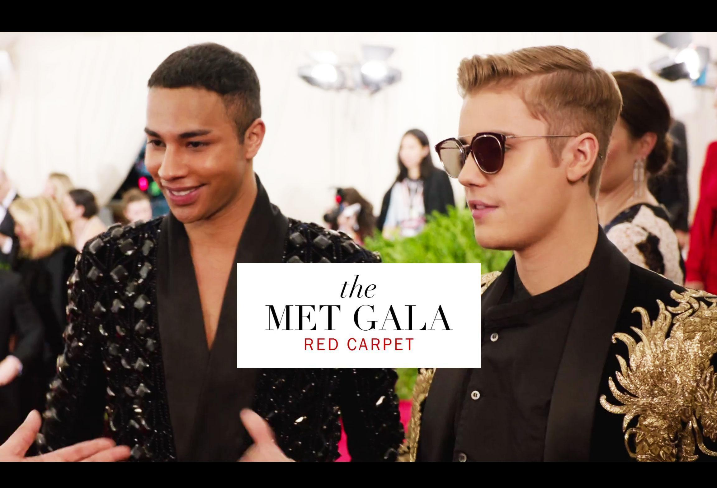 It Took Olivier Rousteing a Month to Make Justin Bieber's Dragon Jacket