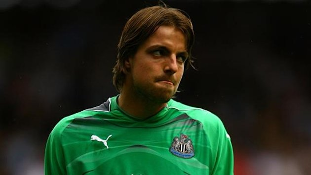 2010-11 Premier League Newcastle United Tim Krul