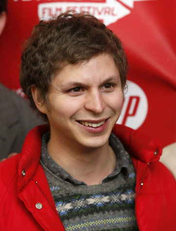 "Cast member Michael Cera poses at the premiere of ""Crystal Fairy"" during the 2013 Sundance Film Festival on Thursday, Jan. 17, 2013 in Park City, Utah. (Photo by Danny Moloshok/Invision/AP)"