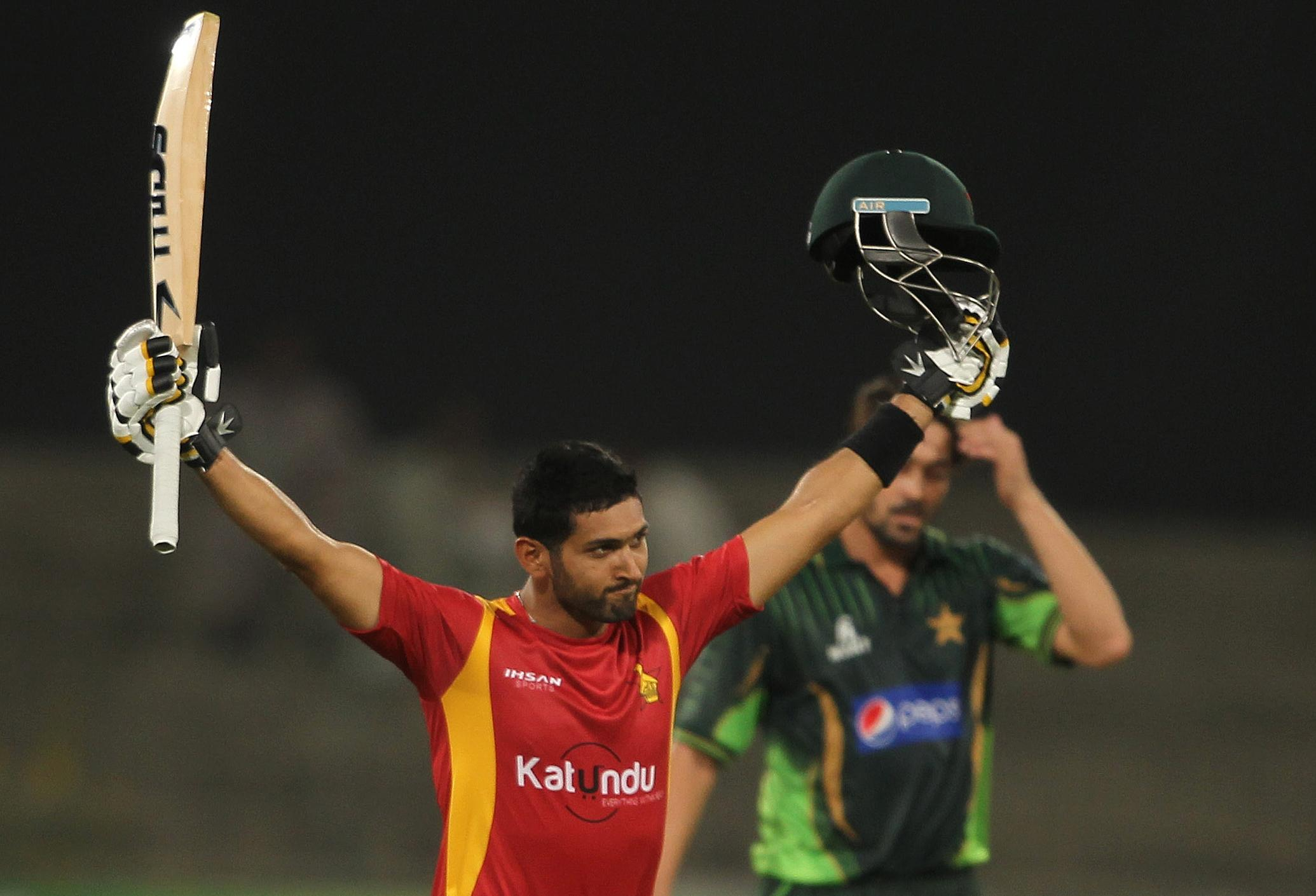 Ali century anchors Pakistan to 6-wicket win over Zimbabwe