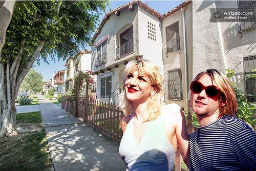 Checking In : Kurt Cobain and Courtney Love's Old Fairfax Apartment is Now a Short-Term Rental