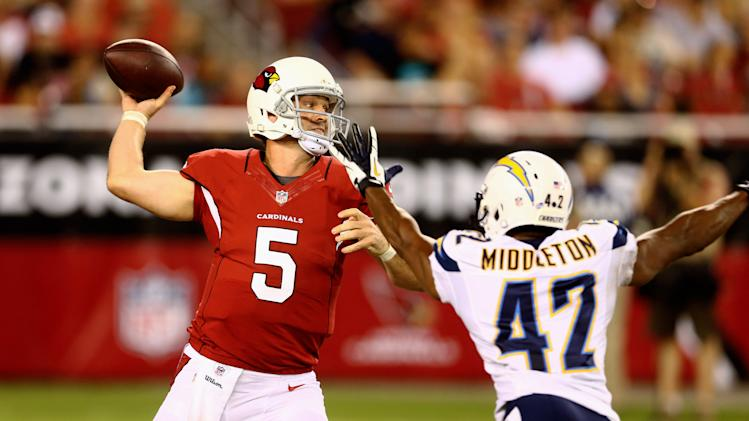 NFL: Preseason-San Diego Chargers at Arizona Cardinals