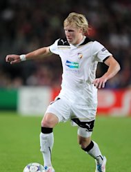Frantisek Rajtoral fired in the winning goal for Viktoria Plzen in Group B