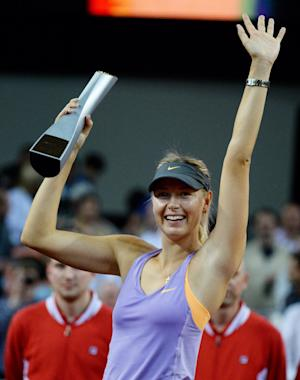 Sharapova beats Ivanovic in Stuttgart final