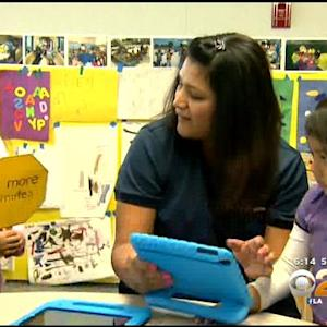 Baldwin Hills Preschool Receives iPads For Blended Learning Program