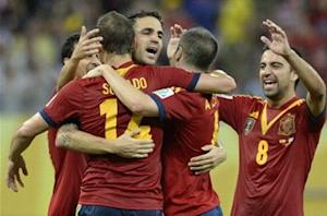 Spain 2-1 Uruguay: World champions record imperious victory