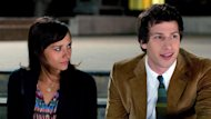 "This film image released by Sony Pictures Classics shows Andy Samberg as Jesse, right, and Rashida Jones as Celeste in a scene from ""Celeste & Jesse Forever."" (AP Photo/Sony Pictures Classics, David Lanzenberg)"