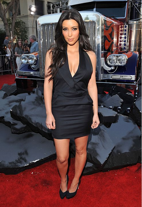 Transformers Revenge of the Fallen LA Premiere 2009 Kim Kardashian