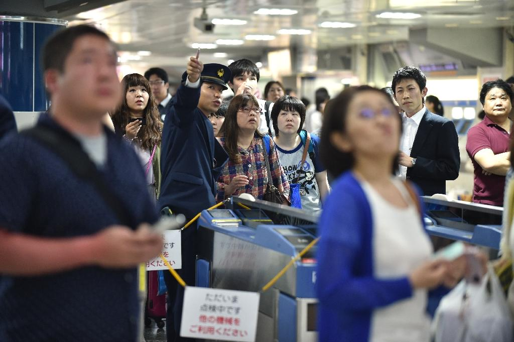 Powerful 7.8 quake shakes Japan