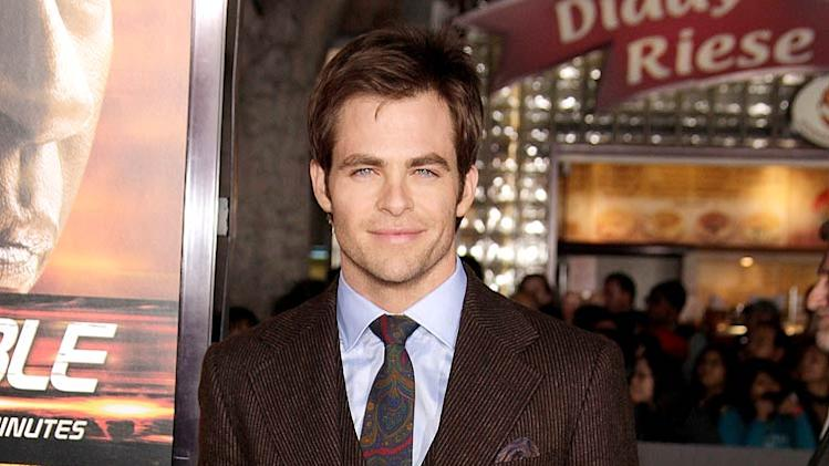 Chris Pine Unstoppable Pr