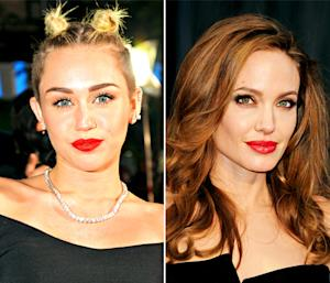 "Miley Cyrus Gets Naked in ""Wrecking Ball"" Video, Angelina Jolie Debuts New Tattoo: Top 5 Stories"