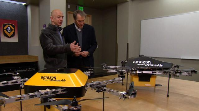 Amazon's Jeff Bezos looks to the future