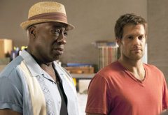 Michael Clarke Duncan and Geoff Stults | Photo Credits: Jennifer Clasen/FOX