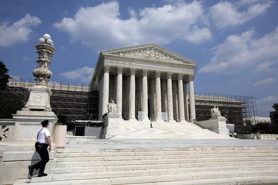 The U.S. Supreme Court is seen Wednesday, June 20, 2012 in Washington. (AP Photo/Alex Brandon)