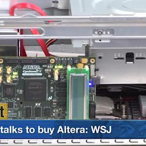 Intel and Altera Rocket Higher on News of Potential Deal Talks