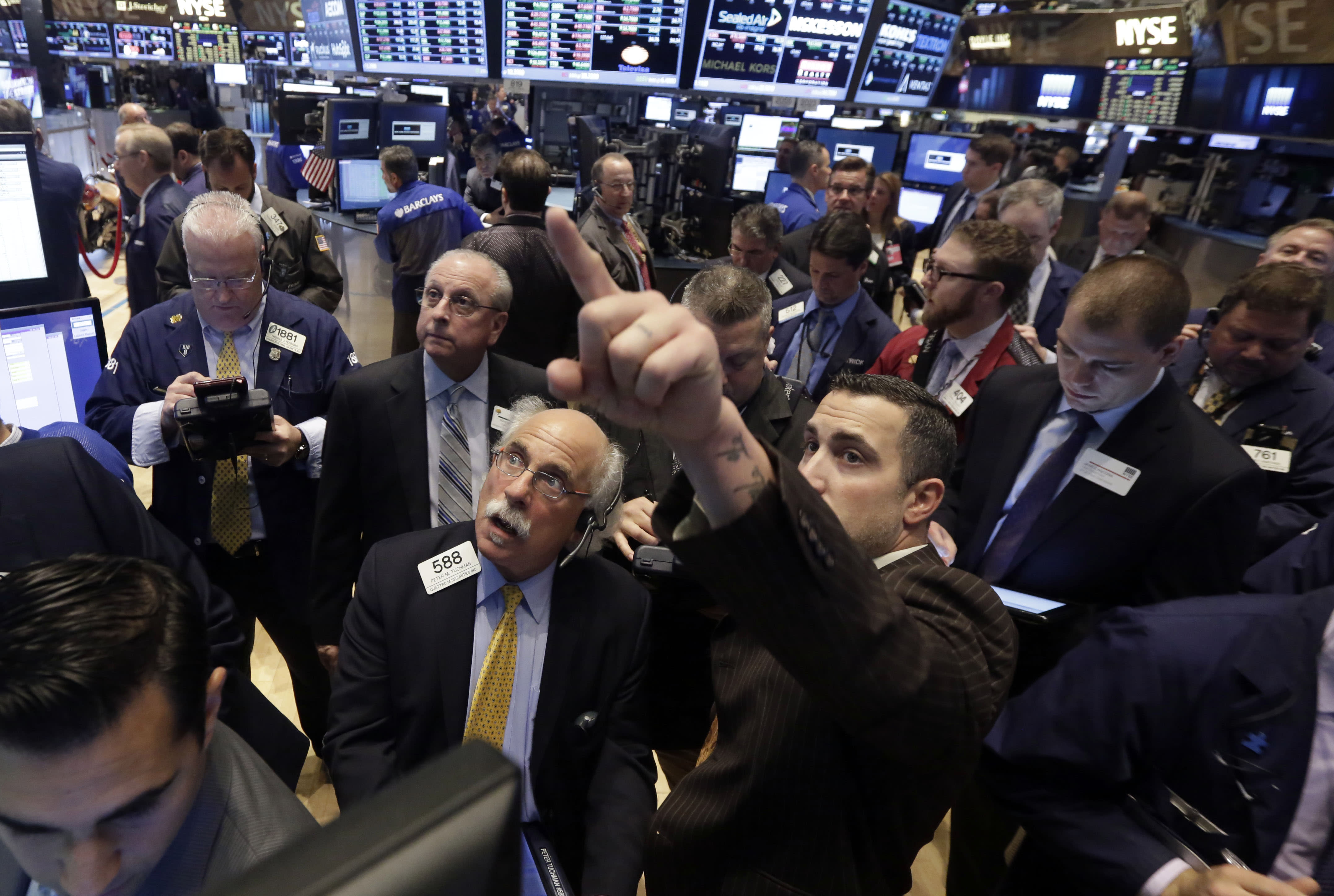 Stocks slide continues; Oil jumps on supply woes; Apple's new Beats