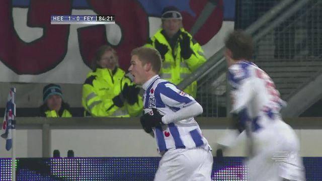 Heerenveen leave it late to beat Feyenoord 2-0