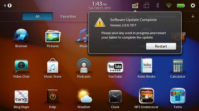 Tablet Alert: RIM To Release LTE BlackBerry PlayBook
