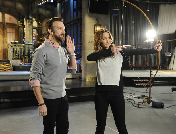 Jennifer Lawrence hosts the eleventh episode of &quot;Saturday Night Live&quot; Season 38.