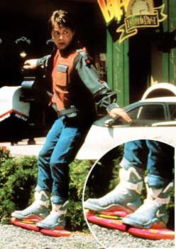 Michael J. Fox in &quot;Back to the Future II&quot;