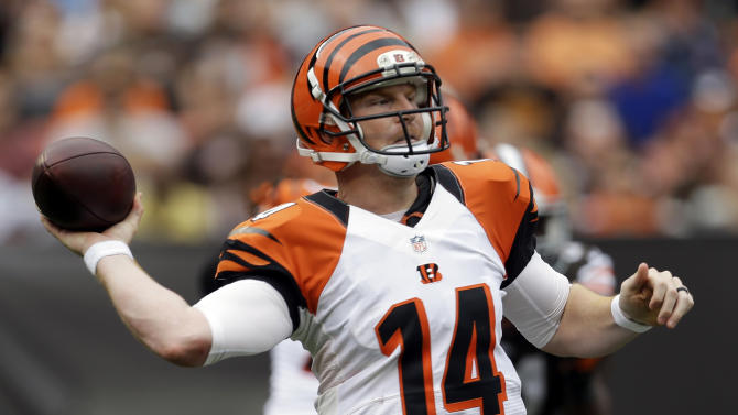 Bengals haven't figured who they are on offense