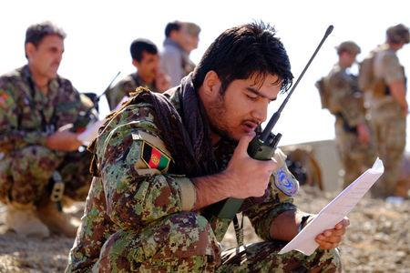 NATO trains Afghan troops to make air strikes more accurate