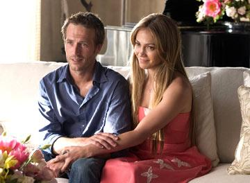 Michael Vartan and Jennifer Lopez in New Line Cinema's Monster-In-Law