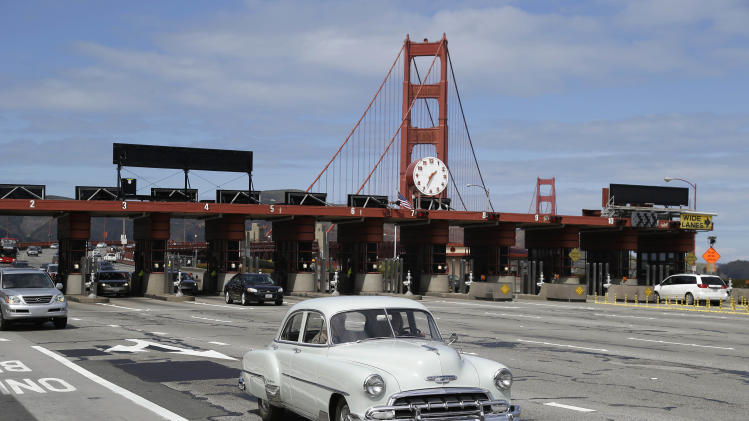 2013 in San Francisco. The historic bridge will take a high-tech leap