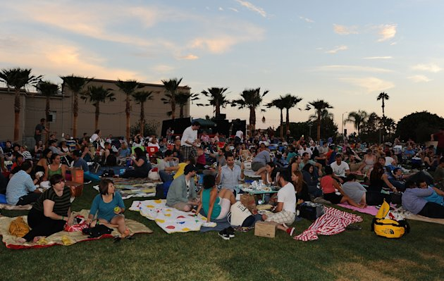"The Academy Of Motion Picture Arts And Sciences' Oscars Outdoors Screening Of ""Back To The Future"""