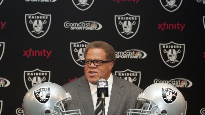 NFL: Oakland Raiders-Press Conference