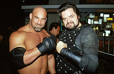 Bill Goldberg and Oliver Platt in Warner Brothers' Ready To Rumble