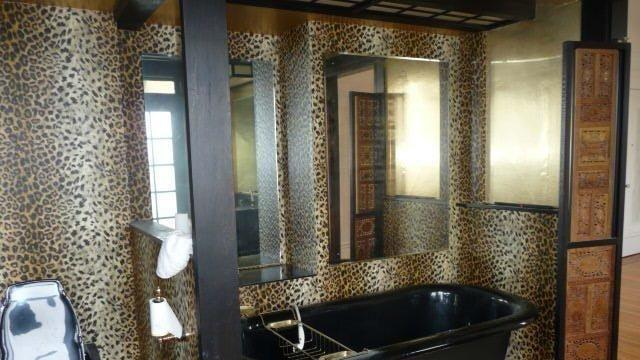 Calgon Take Me Away: Sad Leopard Print Bath Has Been Having Bad Day Since the 80s
