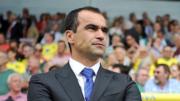 Roberto Martinez's Everton left it late to beat Stevenage