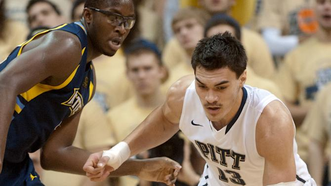 NCAA Basketball: Marquette at Pittsburgh