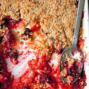 Fruit Crumble: Recipe